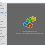 LibreOffice - главное окно программы