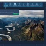 Movavi Photo Editor – расположение инструментов на верхней панели